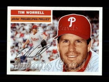 2005 Topps Heritage #258  Tim Worrell
