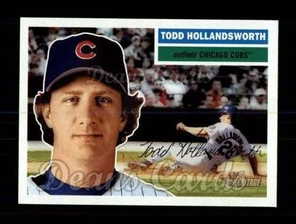 2005 Topps Heritage #267  Todd Hollandsworth