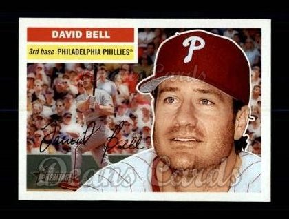 2005 Topps Heritage #366  David Bell