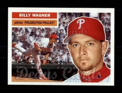 2005 Topps Heritage #37  Billy Wagner