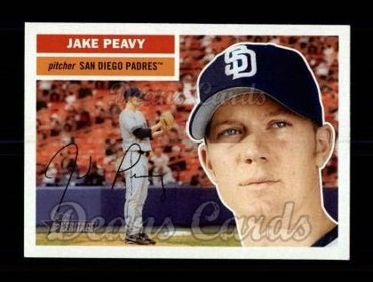 2005 Topps Heritage #377  Jake Peavy
