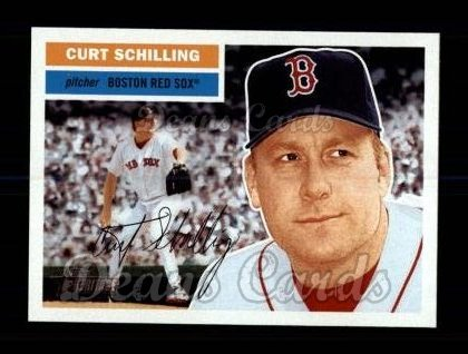 2005 Topps Heritage #389 GLV Curt Schilling