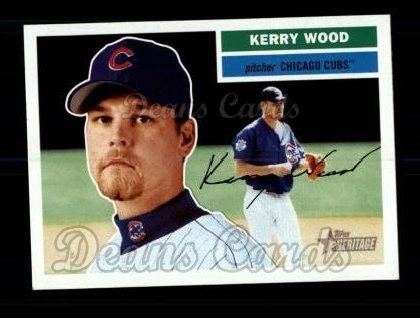 2005 Topps Heritage #399  Kerry Wood