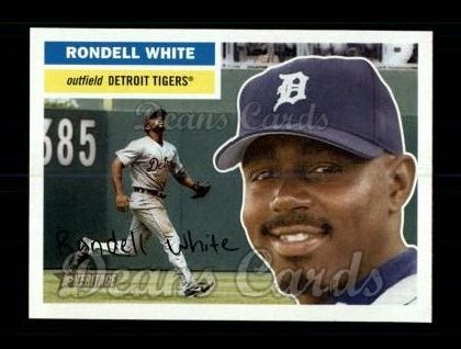 2005 Topps Heritage #409  Rondell White