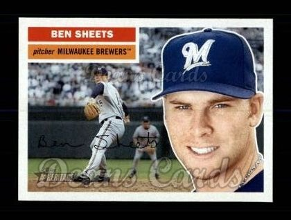 2005 Topps Heritage #416  Ben Sheets