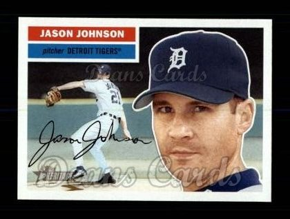 2005 Topps Heritage #419  Jason Johnson
