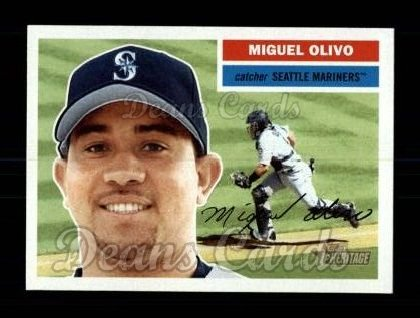 2005 Topps Heritage #77  Miguel Olivo