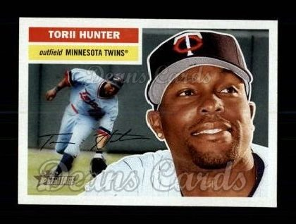 2005 Topps Heritage #82 WAS Torii Hunter