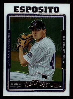 2005 Topps Chrome Update #58  Brad Eldred