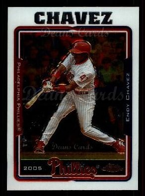 2005 Topps Chrome Update #77  Endy Chavez