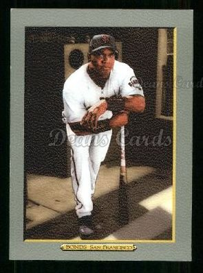 2005 Topps Turkey Red #1 GRY Barry Bonds
