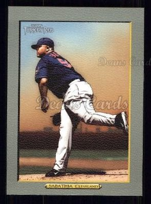 2005 Topps Turkey Red #131  C.C. Sabathia