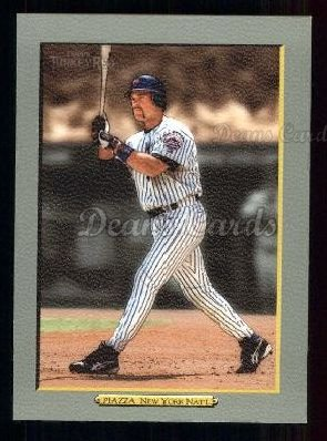 2005 Topps Turkey Red #16 BLU Mike Piazza