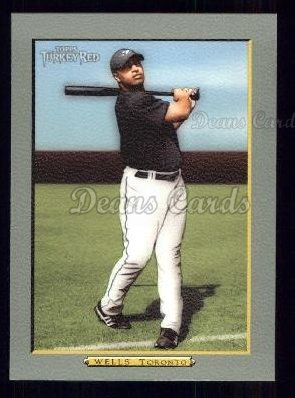 2005 Topps Turkey Red #162  Vernon Wells