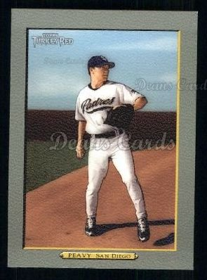 2005 Topps Turkey Red #180  Jake Peavy
