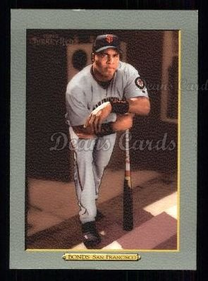 2005 Topps Turkey Red #1 WHI Barry Bonds