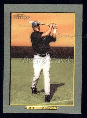 2005 Topps Turkey Red #222  Alex Rios