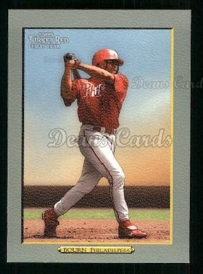 2005 Topps Turkey Red #281  Mike Bourn
