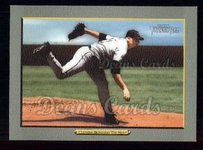 2005 Topps Turkey Red #48   -  Roger Clemens Bringing Heat