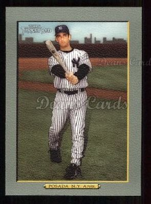 2005 Topps Turkey Red #66  Jorge Posada