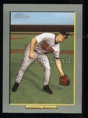 2005 Topps Turkey Red #81  Justin Morneau