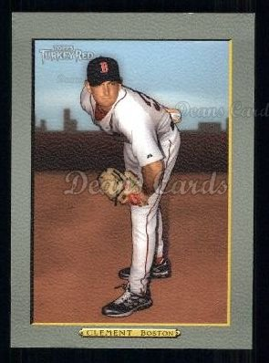 2005 Topps Turkey Red #95  Matt Clement