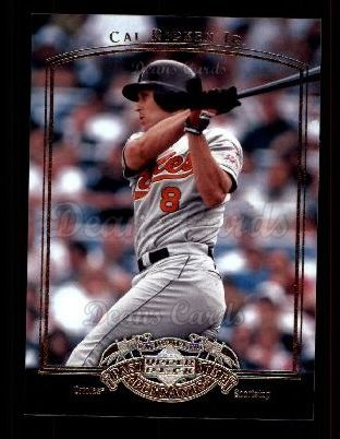2005 Upper Deck Past Time Pennants #13  Cal Ripken