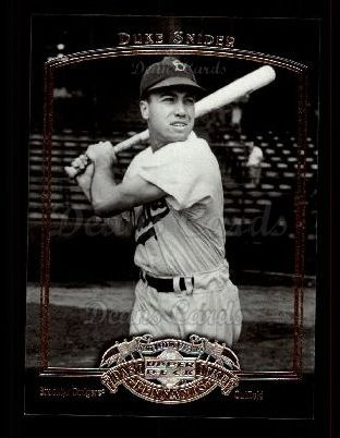 2005 Upper Deck Past Time Pennants #22  Duke Snider