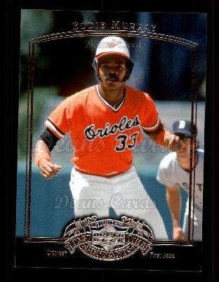 2005 Upper Deck Past Time Pennants #25  Eddie Murray