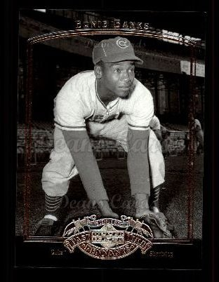 2005 Upper Deck Past Time Pennants #27  Ernie Banks