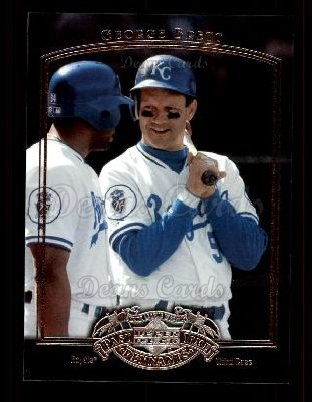 2005 Upper Deck Past Time Pennants #34  George Brett