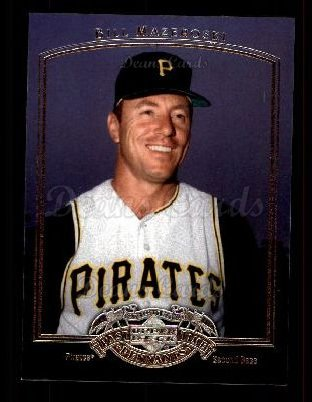 2005 Upper Deck Past Time Pennants #4  Bill Mazeroski