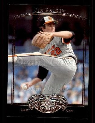 2005 Upper Deck Past Time Pennants #42  Jim Palmer