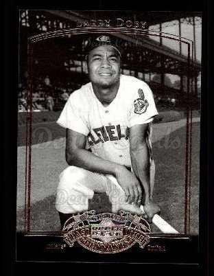 2005 Upper Deck Past Time Pennants #51  Larry Doby