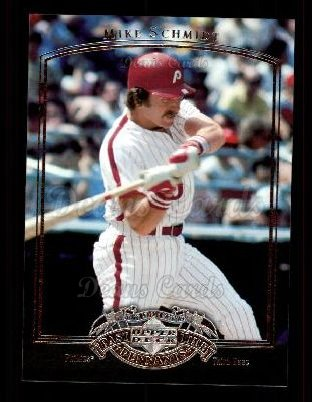 2005 Upper Deck Past Time Pennants #57  Mike Schmidt