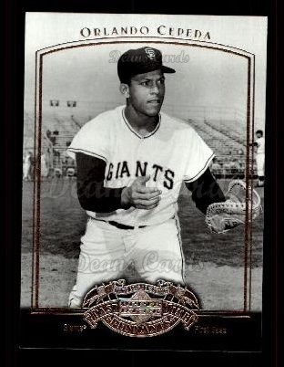 2005 Upper Deck Past Time Pennants #60  Orlando Cepeda