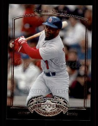 2005 Upper Deck Past Time Pennants #61  Ozzie Smith