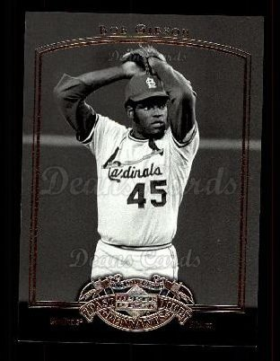 2005 Upper Deck Past Time Pennants #7  Bob Gibson