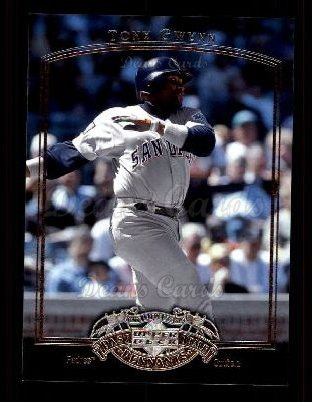 2005 Upper Deck Past Time Pennants #76  Tony Gwynn