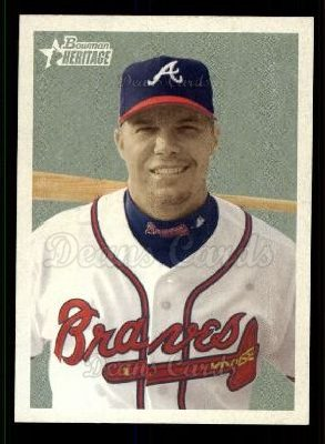 2006 Bowman Heritage #16  Chipper Jones