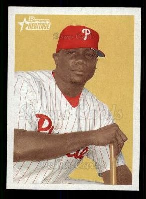2006 Bowman Heritage #3  Ryan Howard