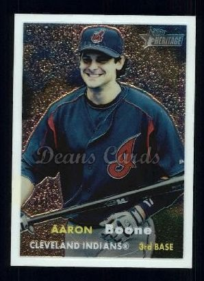 2006 Topps Heritage Chrome #31  Aaron Boone