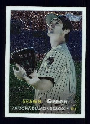 2006 Topps Heritage Chrome #34  Shawn Green