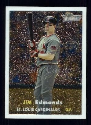 2006 Topps Heritage Chrome #71  Jim Edmonds