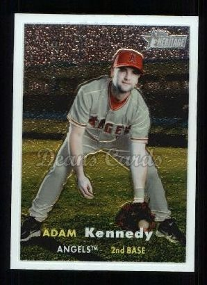 2006 Topps Heritage Chrome #90  Adam Kennedy