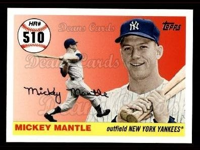 2006 Topps Mantle HR History #510   -  Mickey Mantle Home Run 510