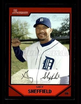 2007 Bowman #70  Gary Sheffield