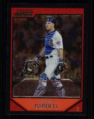 2007 Bowman Chrome #28  Michael Barrett