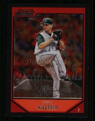 2007 Bowman Chrome #78  Scott Kazmir