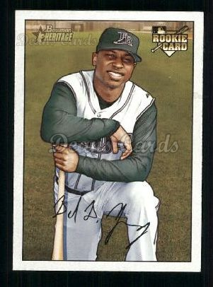 2007 Bowman Heritage #249 SIG Delmon Young